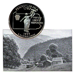 Pennsylvania State Quarter Coin