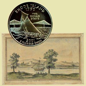 Rhode Island State Quarter Coin