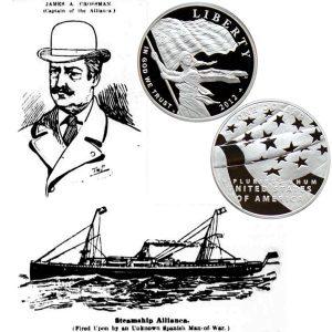 Star-Spangled Banner Commemorative Silver Dollar Coin