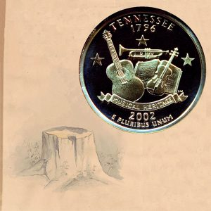 Tennessee State Quarter Coin