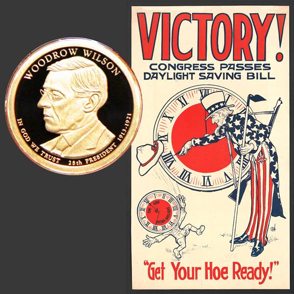 Woodrow Wilson Presidential One-Dollar Coin