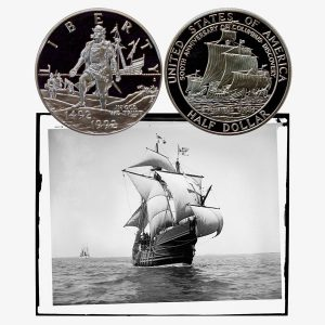 Columbus Commemorative Half Dollar Coin