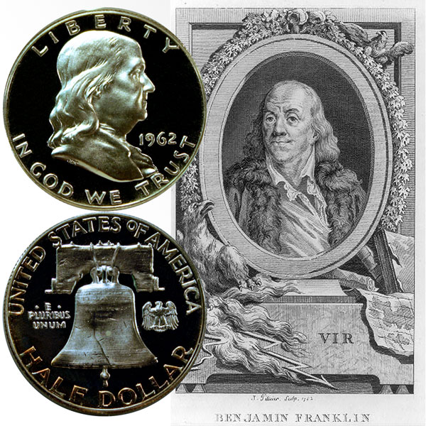 Franklin Silver Half Dollar Coin