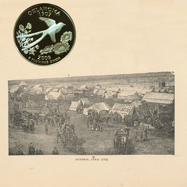 Oklahoma State Quarter Coin