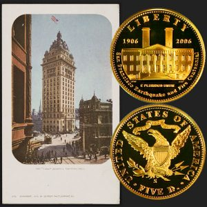 San Francisco Old Mint Commemorative Gold Five-Dollar Coin