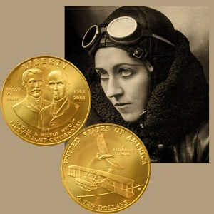 First Flight Commemorative Gold Ten-Dollar Coin