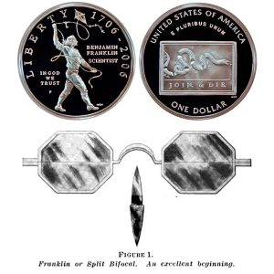 Franklin Scientist Commemorative Silver Dollar Coin