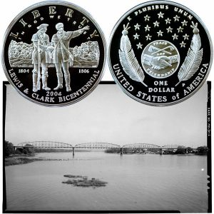Lewis and Clark Commemorative Silver Dollar Coin