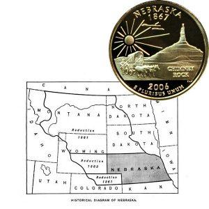 Nebraska State Quarter Coin