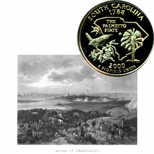 South Carolina State Quarter Coin