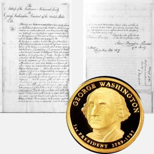 George Washington Presidential One Dollar Coin