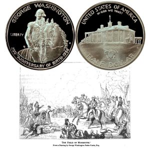 Washington Commemorative Silver Half Dollar Coin