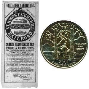 Vermont State Quarter Coin