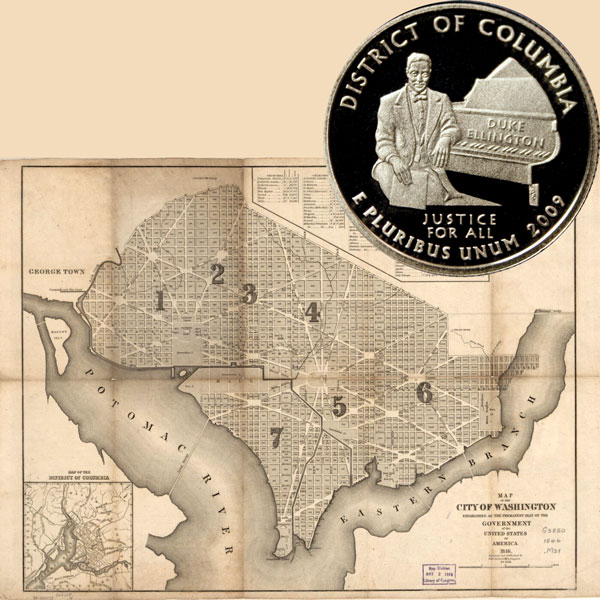 District of Columbia Quarter Coin