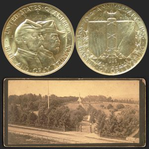 Gettysburg Commemorative Silver Half Dollar Coin