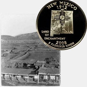New Mexico State Quarter Coin