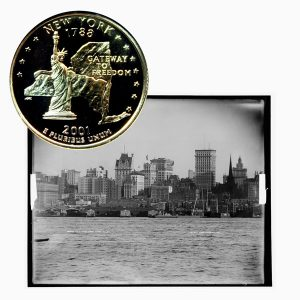 New York State Quarter Coin