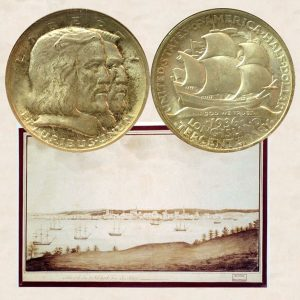 Long Island Commemorative Silver Half Dollar Coin