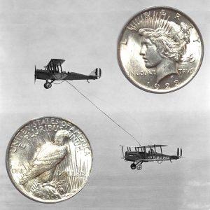 Peace Silver Dollar Coin