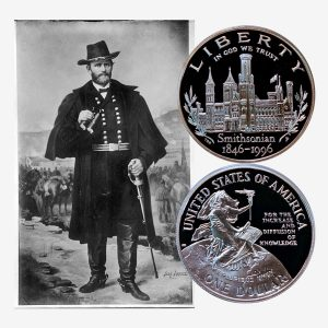 Smithsonian Commemorative Silver Dollar Coin