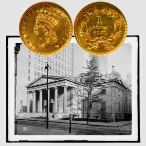Indian Princess Gold One Dollar Coin