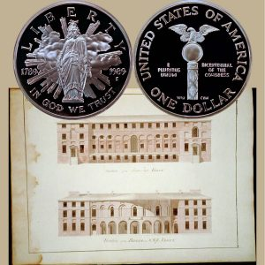 Congress Commemorative Silver Dollar Coin