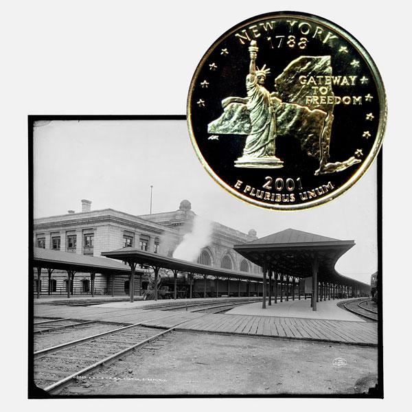 coin show albany ny
