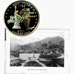 New York State Quarter Coin