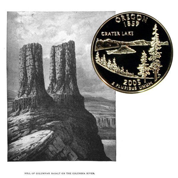 Oregon State Quarter Coin