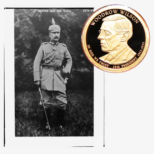 Wilson Presidential One Dollar Coin