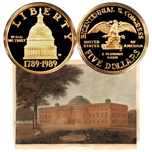 Congress Commemorative Gold Five-Dollar Coin