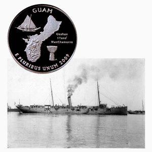 Guam US Territory Quarter