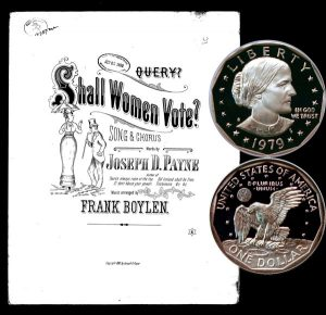 Susan B. Anthony One Dollar Coin