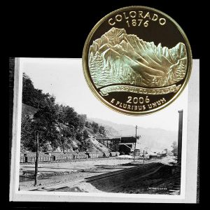Colorado State Quarter Coin