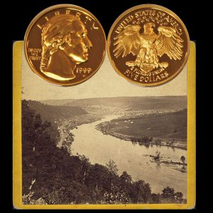 Washington Gold Commemorative Five-Dollar Coin