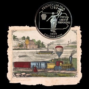 Pennsylvania State Quarter Coin