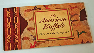 American Buffalo Coin and Currency Set outer package