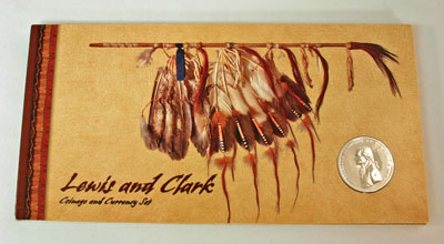 Lewis and Clark Coin and Currency Set holder