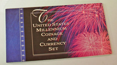 Millennium Coin and Currency Set holder