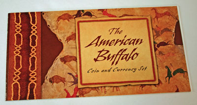 American Buffalo Coin and Currency Set Booklet front