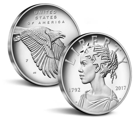 2017 American Liberty 225th Anniversary Silver Medal