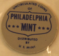 1964 Mint Set blue Philadelphia mint token