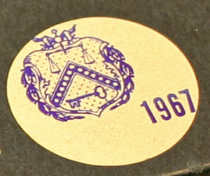 1967 Special Mint Set seal