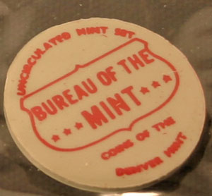 1968 Mint Set Denver Mint token
