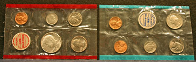 1968 Mint Set obverse