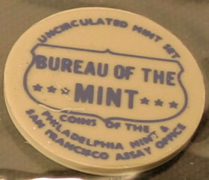 1968 Mint Set Philadelphia Mint token