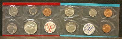 1970 Mint Set obverse