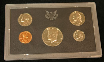 1971 Proof Set obverse