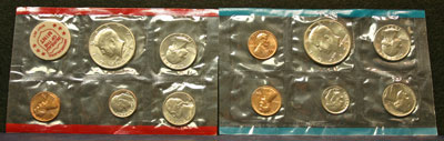 1972 Mint Set obverse