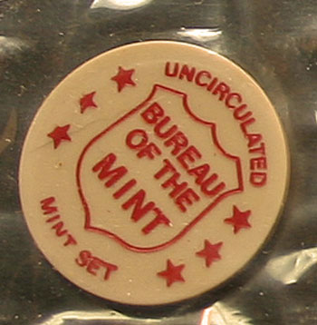 1972 Mint Set token